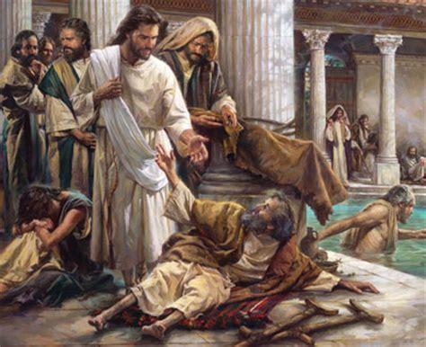 Jesus Heals The Blind Man Craft Living Bulwark