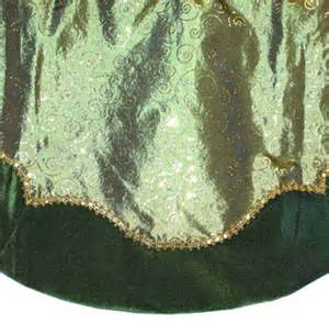 tree skirts 48 quot green tree skirt