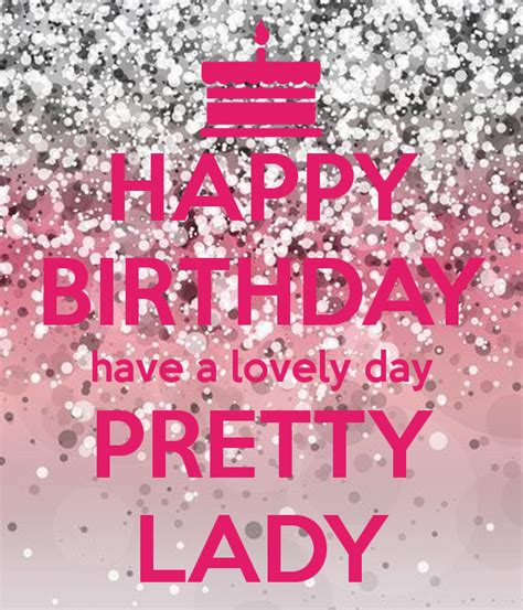 Happy Birthday Pretties 2 by Happy Birthday A Lovely Day Pretty Poster