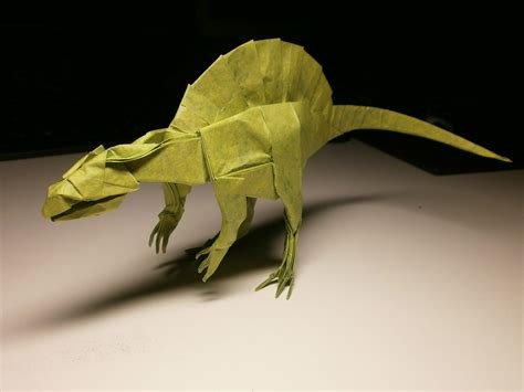 origami spinosaurus the world s newest photos of origami and spinosaurus