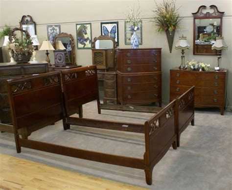 Twin Bedroom Set For Sale | complete mahogany twin bedroom set for sale antiques com