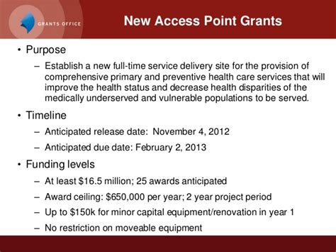 section 330 grant funding for federally qualified health centers