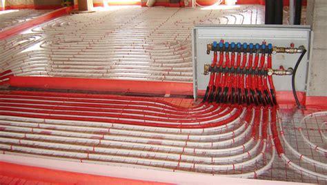 risparmio riscaldamento a pavimento sistema di riscaldamento e raffrescamento a pavimento