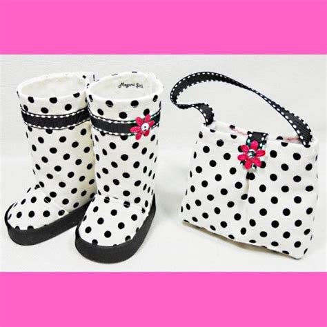 american doll shoe patterns free american 18 dolls purse and boots set white by