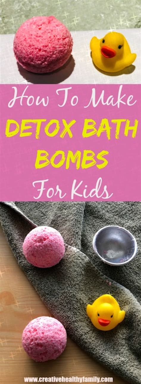 Detox With Bath Bombs by How To Make Detox Bath Bombs For