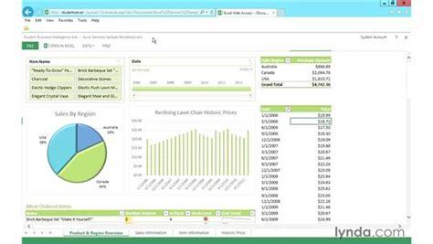 tutorial excel web app excel web access ewa