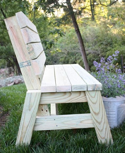 2 by 4 bench diy 2x4 bench sweet pea