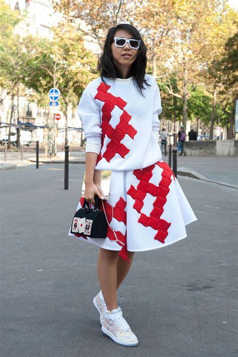 paris fashion week hair trends 2015 spring summer paris fashion week hairstyles 2015 street style