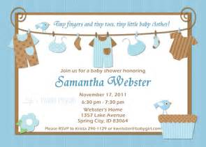 Baby Shower Templates For Boy by Ideas For Boys Baby Shower Invitations Baby Shower For