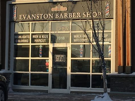 evanston barber shop calgary ab 7018 2060 symons