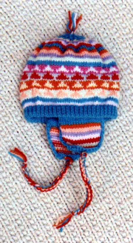 peruvian knitting 1000 images about knitted hats on 2 needles on