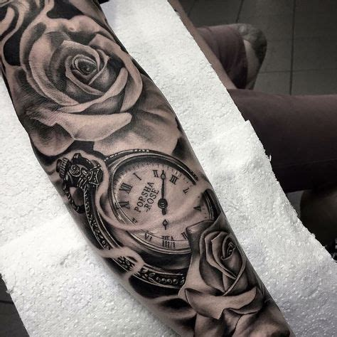 rose themed tattoo top 55 best rose tattoos for men improb