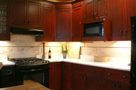 Cranberry Kitchen Cabinets Cranberry Refinished Cabinets