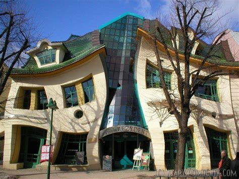 crooked house in sopot poland is like a children s book unusual buildings around the world moco choco