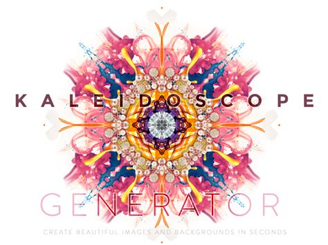 kaleidoscope design maker kaleidoscope generator psd by tanya s mau dribbble