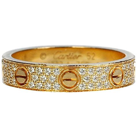 Wedding Bands Cartier by Cartier Gold Wedding Band Ring For Sale At