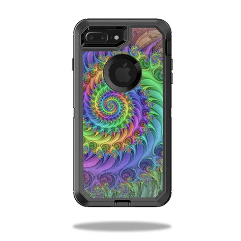 skin decal wrap  otterbox defender iphone   case tripping