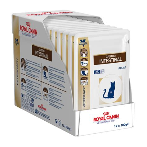 royal canin veterinary diet feline gastrointestinal pouches pet circle