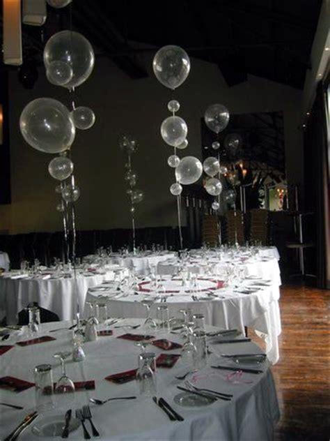 bubble balloons wedding idea chagne bubble