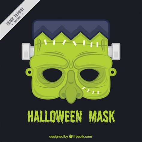 download printable halloween masks zombie halloween mask vector free download