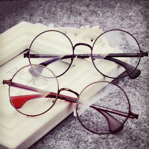 Cermin Bulat retro metal glasses yl 51 on luulla