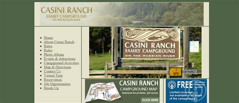 Casini Ranch Cabins by Top 5 Cgrounds On The Russian River