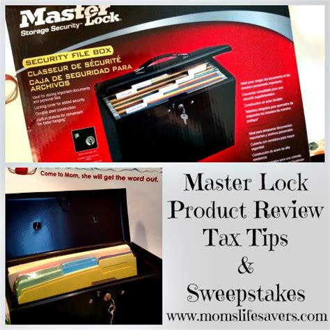 Sweepstakes Tax - master lock product review tax tips and sweepstakes mom