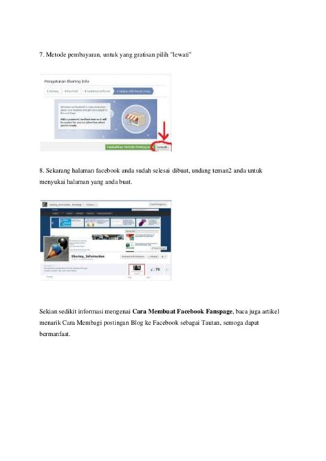 membuat fanspage facebook gratis cara membuat facebook fanspage