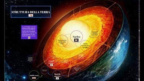 struttura interna terra struttura della terra