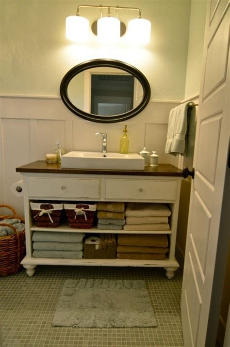 diy bathroom sink cabinet 17 best ideas about dresser bathroom vanities on pinterest