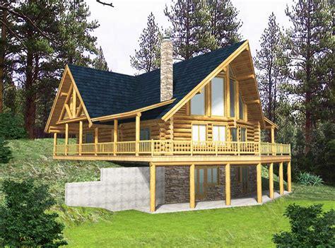 log home escape 35122gh architectural designs house