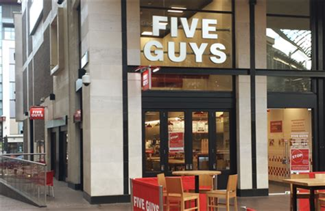 Five Guys Gift Card Balance - five guys cafes takeaways cabot circus bristol