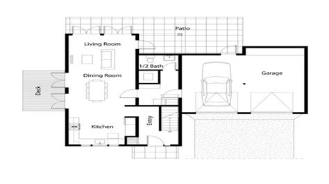 Easy Floor Plans Simple House Floor Plan Simple Floor Plans Open House Small Simple House Plans Mexzhouse