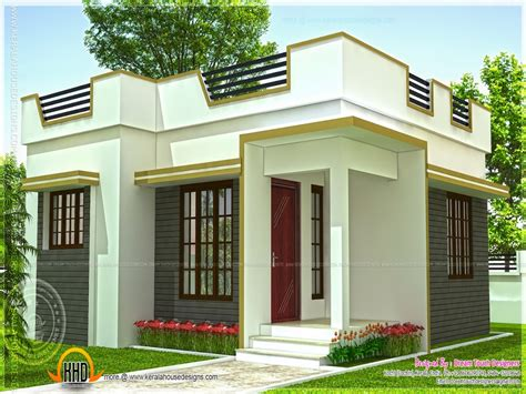 Small House Plans In Kerala Small Modern House In Kerala Modern House