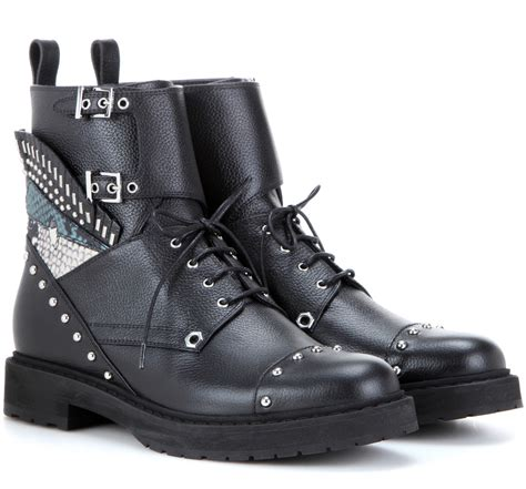 combat boots designer combat boots for fall 2016 spotted fashion