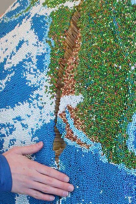 Earth Made Of Matchsticks