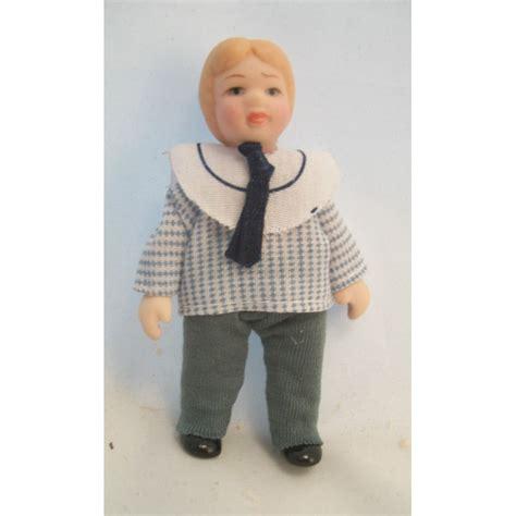 porcelain doll boy porcelain doll boy dollhouse miniature 1 quot scale