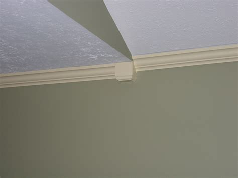 how to install crown molding on a sloped ceiling joy