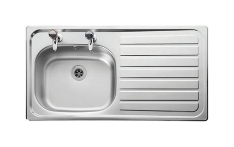 leisure sinks euroline single bowl and drainer 860mm x leisure sinks lexin line ln95r right hand drainer inset 1