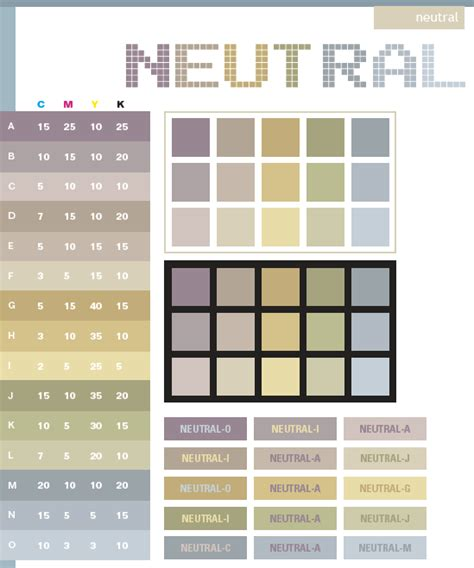list of neutral colors neutral color schemes color combinations color palettes