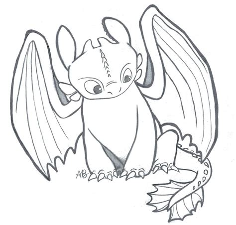 i drew this sketch of toothless from quot how to train your