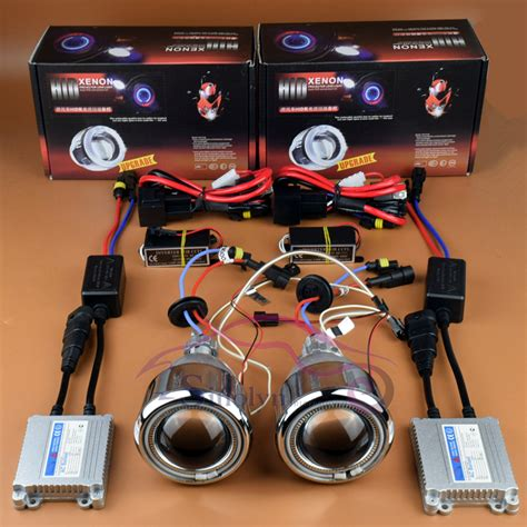 motorcycle halo headlights halo kits projector hid kits motorcycle headlight angel eyes halo hid bi xenon