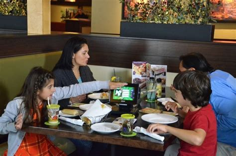 Olive Garden Server Pay by Olive Garden Rolls Out Tabletop Tablets For Ordering And