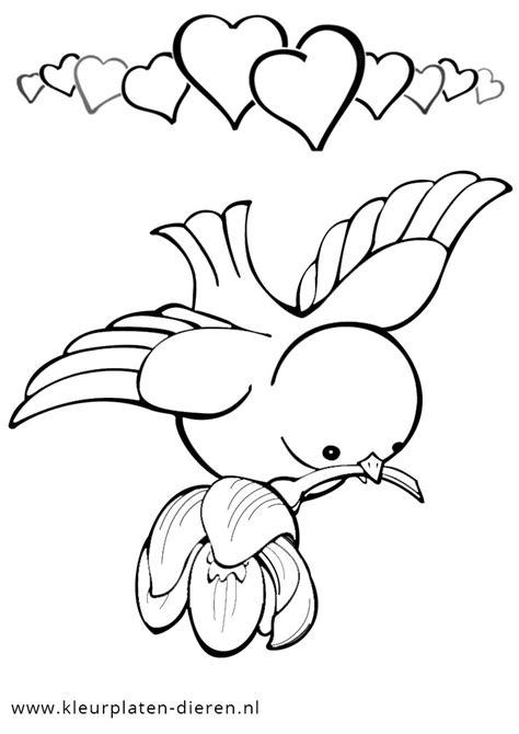 afbeelding bloemen met dier kleurplaat hartjes en bloemen ow18 belbin info
