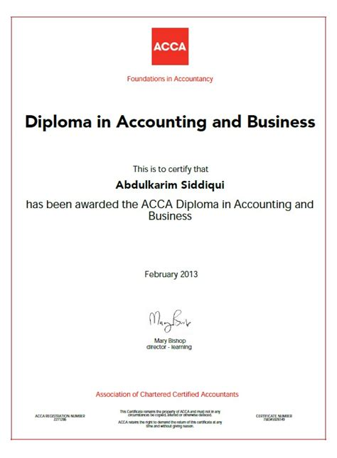 How To Apply Mba Degree After Acca by Abdulkarim Siddiqui Bayt
