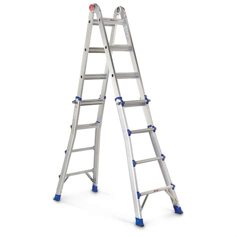 Multi Purpose Ladder 22 multi purpose aluminum ladder 300311 ladders