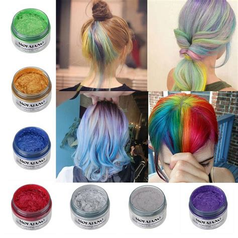 color wax color hair wax temporary hair dye aloha