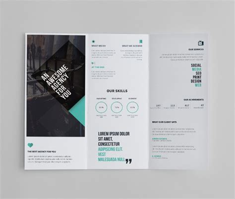 business tri fold brochure templates 23 tri fold brochure designs free psd vector ai eps