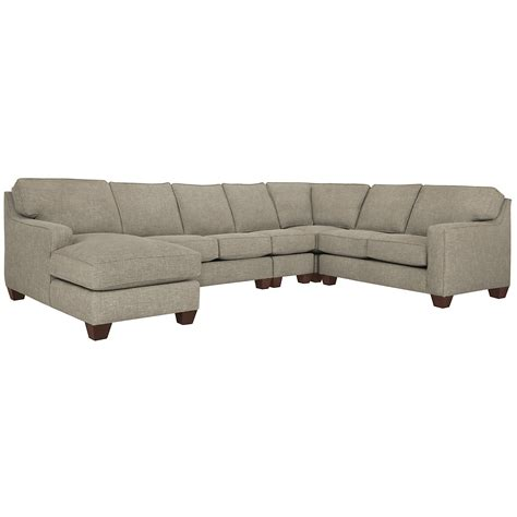 city furniture york pewter fabric large left chaise sectional