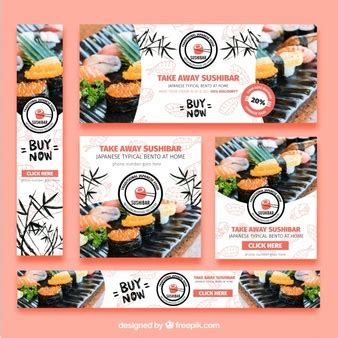 sushi restaurant banner design by dreadjim on deviantart sushi vectors photos and psd files free download